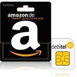debitel SIM-Karte + 12€ Amazon Gutschein + 3€ Startguthaben für nur 1,95€