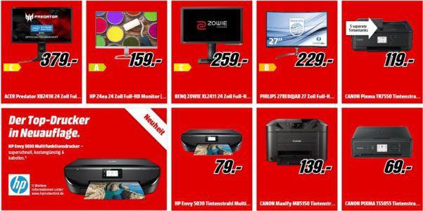 Media Markt: neue Multimedia Angebote   günstige TVs, Drucker, Navis und vieles mehr