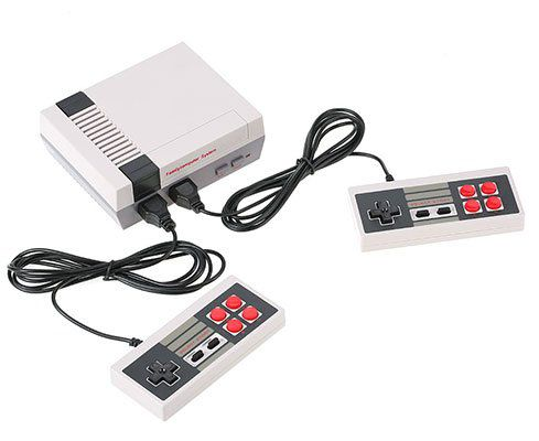 Nintendo NES Nachbau (neue Version!) mit 620 Classic Games für 12,67€