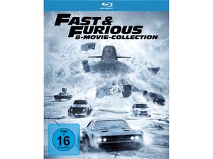 Fast & Furious 1 8 (Blu Ray) für 25€ (statt 31,50€)
