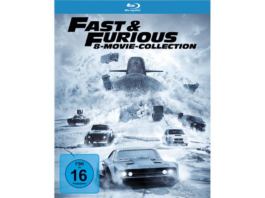 Fast & Furious 1 8 (Blu Ray) für 29€ (statt 34€)