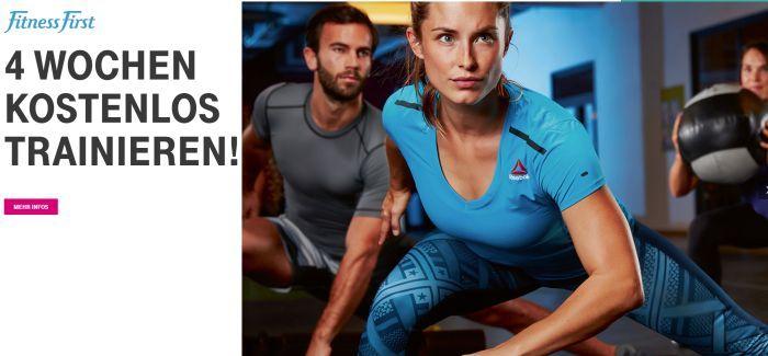 Nur für Telekom Kunden: 4 Wochen Fitness First Mitgliedschaft kostenlos