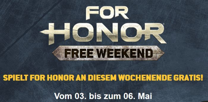 For Honor (PC, PS4, Xbox One) gratis spielbar vom 3. bis 6. Mai