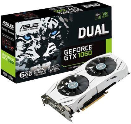 Bestpreis: Asus GTX 1060 Dual OC 6GB Grafikkarte + ADATA 240GB SSD für nur 266€ (statt 339€)
