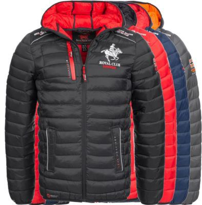 Geographical Norway BRYAN Herren Winter Steppjacke bis 2XL für je 59,90€ (statt 89€)