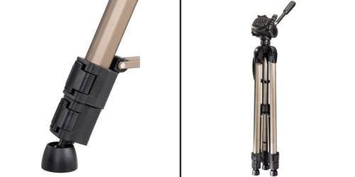 MM Preishammer: HAMA Stativ Star 61   Dreibein bis 1530 mm mit integr. Wasserwaage für 15€
