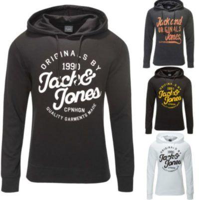 JACK & JONES Kapuzenpullover, 8 Modelle Hoddies bis 2XL für je 24,90€