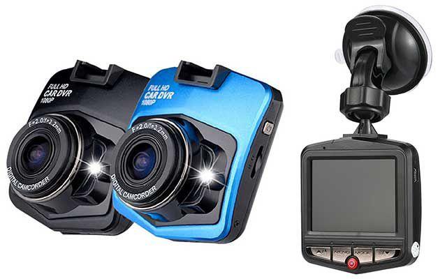 Dashcam mit 2,4 großem Display, Nachtsicht und 140° Weitwinkel für 9,45€