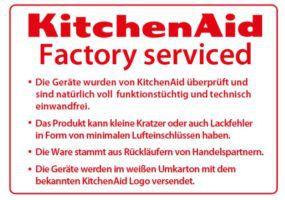 KitchenAid 5KSM45EWH   Küchenmaschine mit 250W (ref.) für 222€ (statt 289€)