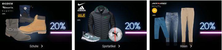 Galeria Kaufhof Sonntagsangebote   z.B. 25% Rabatt auf Damen , Herren , Kinder Sportbekleidung (inkl. Sportschuhe)