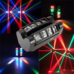 LED DMX512 Spider Stage Discolicht für 53,59€ (statt 90€)