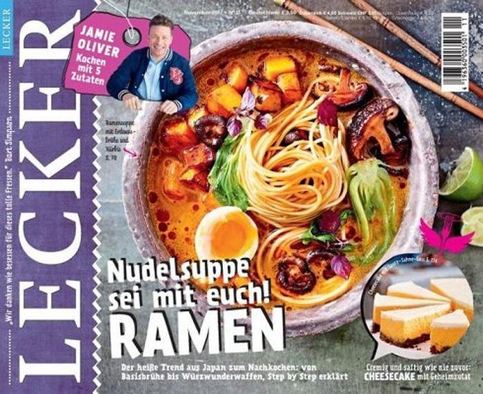Lecker Koch Magazin im Jahresabo für 35€ + 30€ Amazon Gutschein