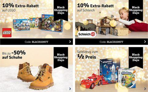 MyToys Mega Sale mit 10% Rabatt auf LEGO, Schleich, Ravensburger, BRIO u.m.   günstiger Nachschub für die Kids!