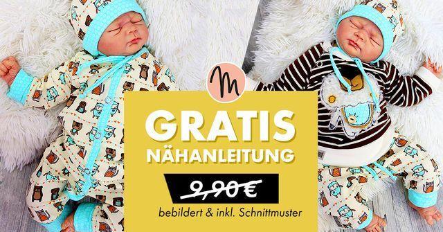 """Ebook mit Schnittmustern für Babykleidung """"FancyFirstYear"""" gratis + Gutschein on top"""