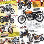 Jahresabo MOTORRAD für 118,30€ inkl. 75€ Verrechnungsscheck