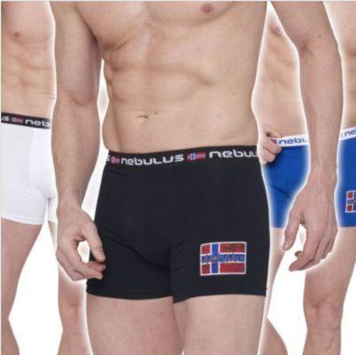 Nebulus Diego T100   3er Pack Herren Boxershorts für 19,95€
