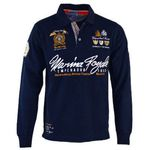 Geographical Norway Canadian Peak – Herren Langarm Shirts & Polos für je 19,99€