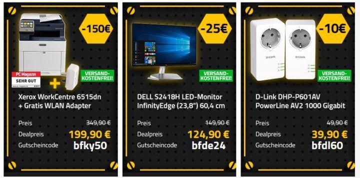 Office Partner: Black Freitag Angebote   günstige Drucker, Monitore & Co.