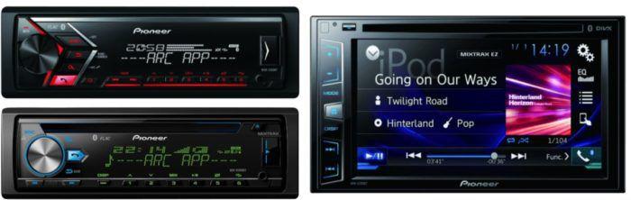 Pioneer Autoradio Sale   z.B. PIONEER MVH S300BT für nur 59,99€