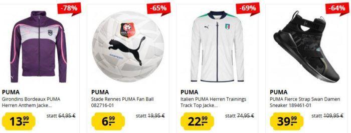 SportSpar Puma Sale mit Restposten und Einzelstücken   z.B. PUMA Ducati Herren Motorsport Polo Shirt ab 12,99€