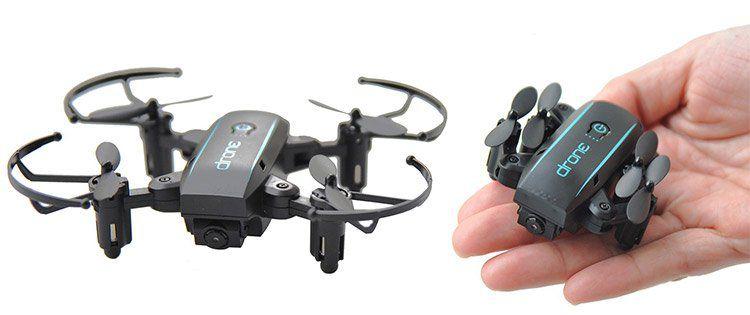 Linxtech IN1601   2.4G faltbarer FPV Quadcopter mit Wifi, 720P Cam, Headless Mode & Fernbedienung für 24,93€