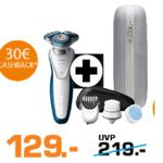 Saturn Super Sunday Deals: z.B.  Philips S7520/69 Series 7000 Elektro-Rasierer für eff. 99€