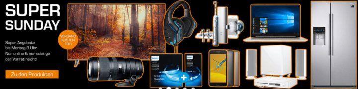 Saturn Super Sunday Deals: z.B.  ORAL B Genius 8000S eZahnbürste für eff. 74€