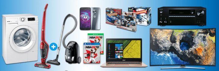 Saturn Late Night Shopping Übersicht   u.a.: AEG Staubsauger Doppelpack statt 413€ für 299€   Acer Swift 3 statt 999€ für 799€