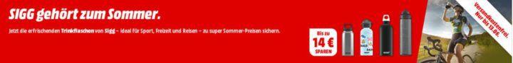 Top! Media Markt: SIGG Trinkflaschen Sale   ab 6€ inkl. Versand