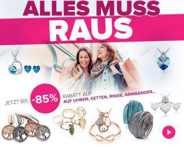 Silvity: Schmuck Ausverkauf mit 85% Rabatt   günstiger Schmuck ab 1,60€ + VSK + 3€ Gutschein ab 10€