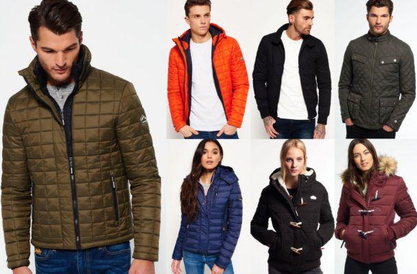 Damen & Herren Superdry Jacken für je 50,95€   sehr viele Modelle!
