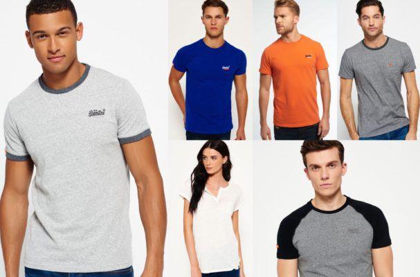 Superdry Damen und Herren T Shirts   54 Modelle für je 12,95€