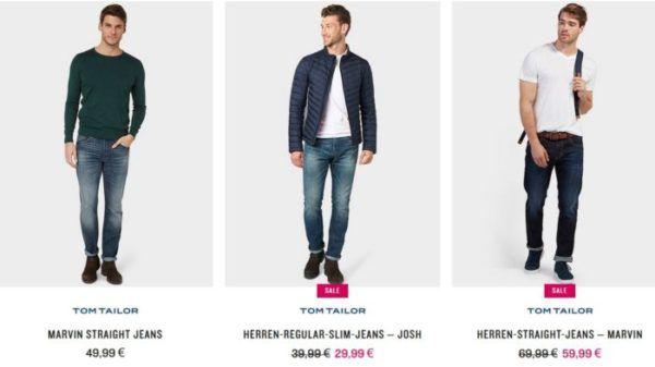 Tom Tailor Happy Deals mit satten 25% auf Alles (ausser Gutscheine) Marken Fashion zu Bestpreisen