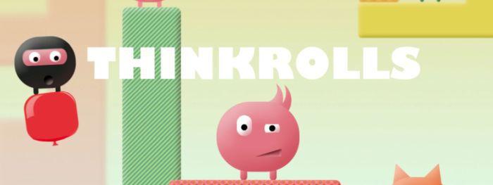 Thinkrolls (iOS) gratis statt 4,49€