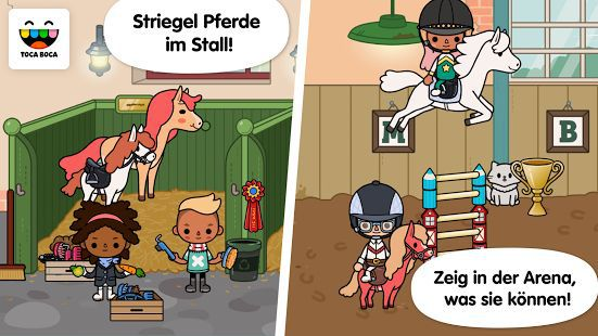 Toca Life: Stable (Android/iOS) gratis statt 2,99€
