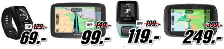 TomTom Tiefpreisspätschicht   günstige Navis & Tracker z.B. TOMTOM Spark 3 statt 84€ für 69€