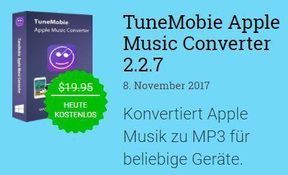Kostenlos: TuneMobie Apple Music Converter – nur bis morgen 10 Uhr