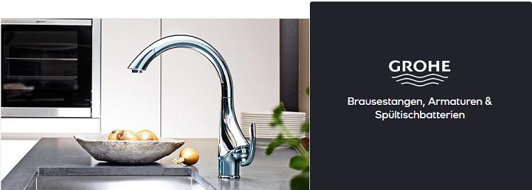 Grohe Armaturen und Duschsysteme bei Vente Privee   z.B. Brausestangenset Relexa Trio 100 für 78,90€ (statt 91€)
