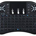 Backlit 2.4GHz Mini Tastatur mit Maus & Touchpad für 4,59€