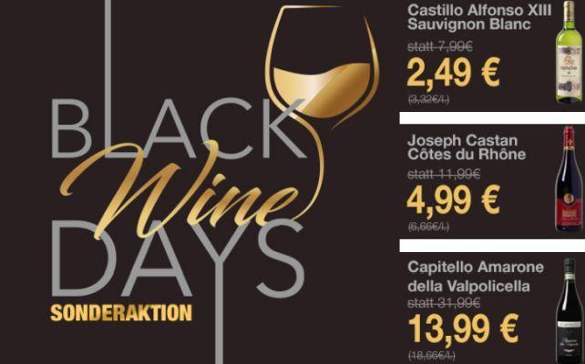 Black Wine Days bei Weinvorteil   Top Weine ab 5,99€