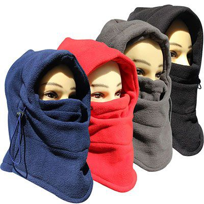 Doppelschichtige Gesichtsmaske gegen Wind & Wetter für 3,36€