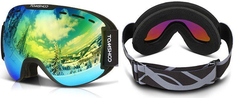 TOMSHOO OTG Skibrille in vielen Styles für 17,19€