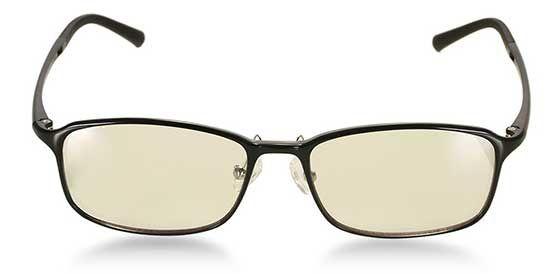 Xiaomi Mijia Brille zum Augenschutz vor Displays inkl. Lederhülle für 17,19€