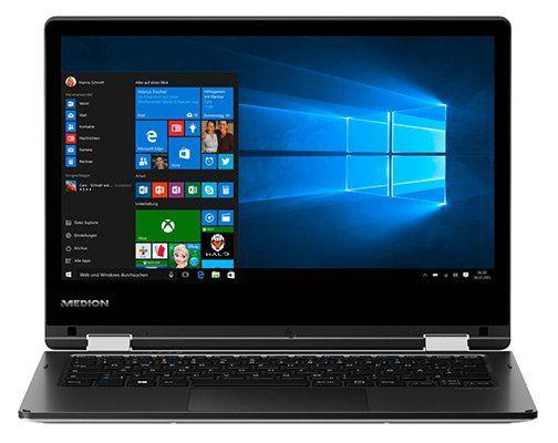 Medion Akoya E2228T   11,6 Zoll Touch Notebook (Intel Atom x5 Z8300, 4GB, 64GB) für 149,95€   B Ware!