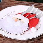Verschiedene Besteckhüllen für Weihnachten im 4er Set für je 2,88€