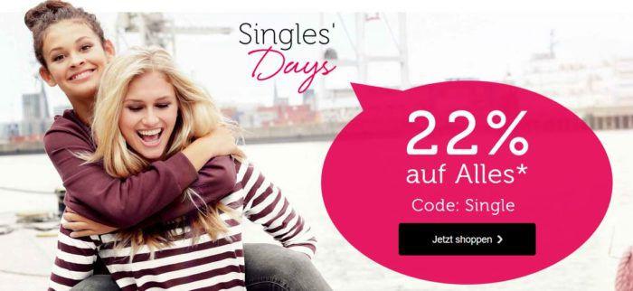 Singles Day: Bonprix mit 22% auf alles bis Mitternacht   auch auf Wohnen