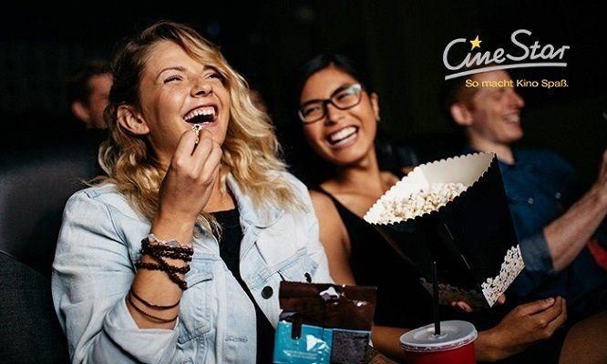 CineStar Kinos mit 5x Eintritt bei 2D Filmen für 27,50€