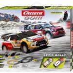 Carrera 20062433 Go!!! Let's Rally! Autorennbahn für nur 39€ (statt 46€)