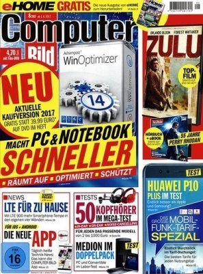 1 Jahr Computer Bild mit DVD für 136,50€ inkl. 120€ Amazongutschein