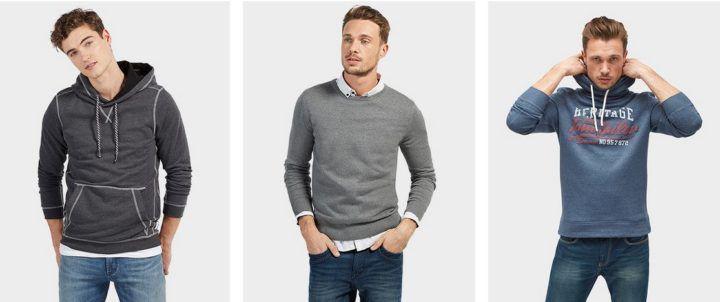 Tom Tailor: 20% Rabatt auf alle Hosen, Pullover & Accessoires